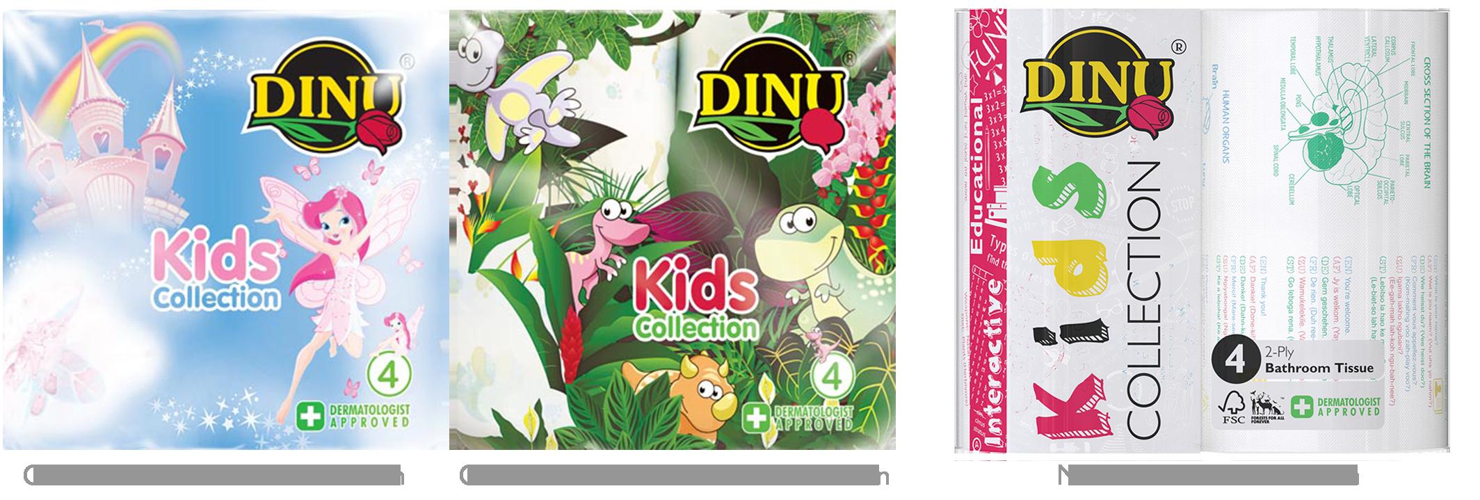 Dinu Kids Collection - Comparison