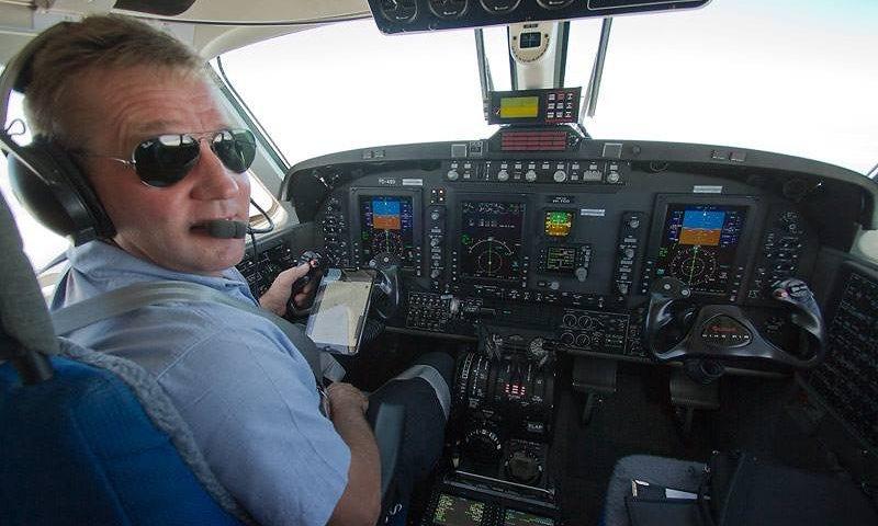 Fying Doctors - Pilot Geoff Cobden