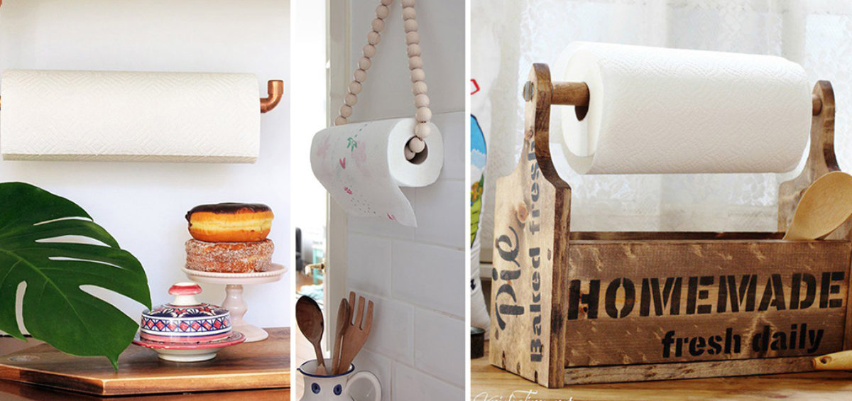 DIY Household Towel Holders