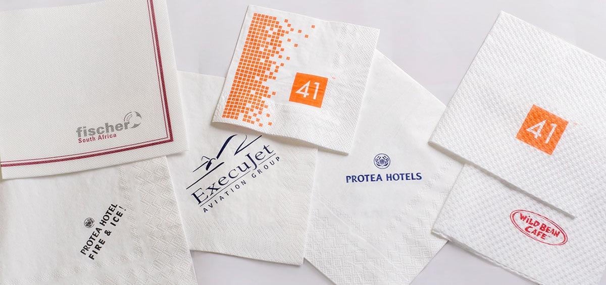 custom napkins with photo