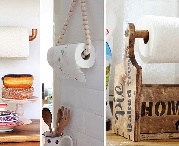 DIY Household Towel Holders