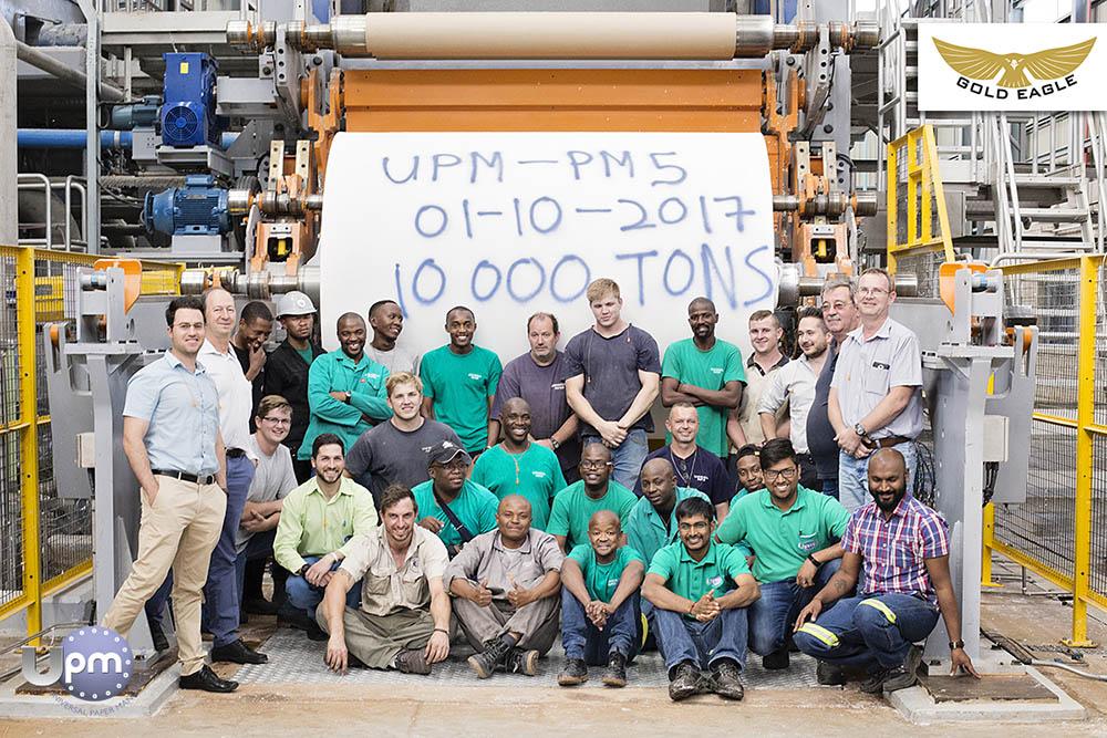 UPM2 Milestone - 10 000 Tons
