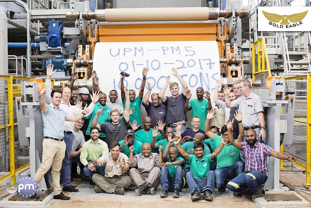UPM 10 000 ton milestone